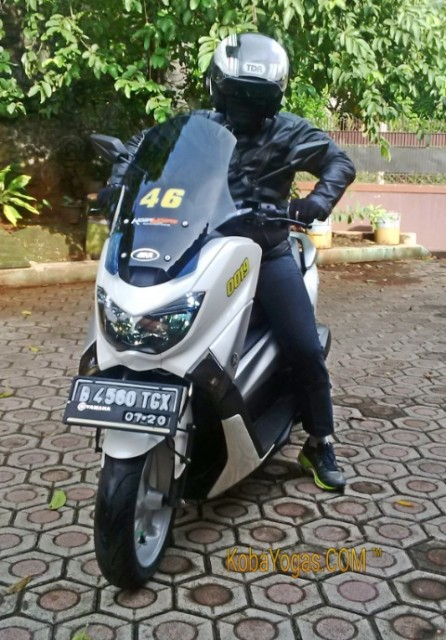 windshield yamaha Nmax baru 2