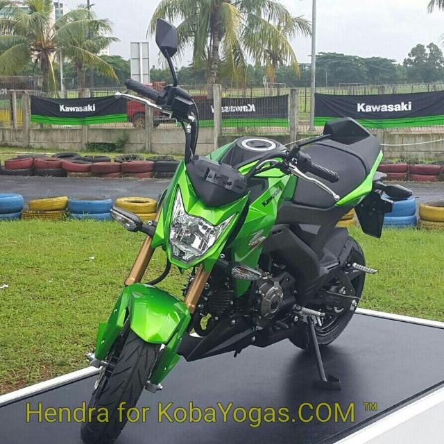 Kawasaki Z125 hijau kobayogas