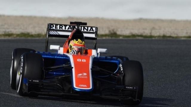 rio haryanto manor racing no 88