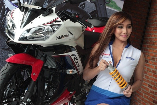 baby margaretha Yamaha R15 facelift 2016