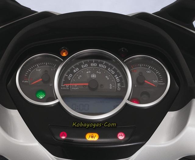 speedometer Piaggio MP3 Yourban