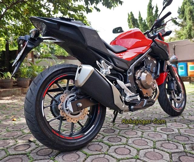 Review New Honda CB500F 2016 ABS, Kini Makin Moge Look