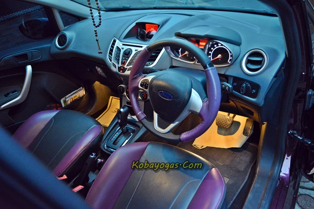 interior Ford Fiesta 1.6 S DCT 2013