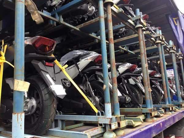Honda Forza 125 siap dikirim di Indonesia