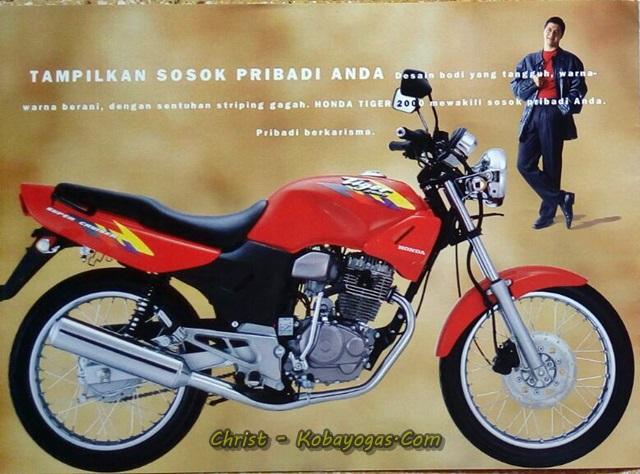 iklan honda tiger merah Kobayogas.com