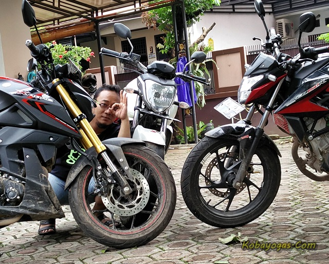 xabre vs byson vs new cb150 1