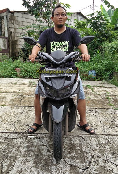 Yamaha New GT125 Eagle eye hitam depan