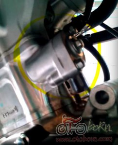 posisi lift tensioner