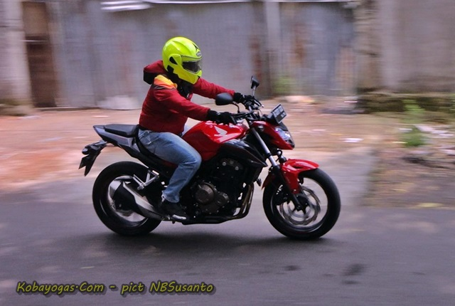 Test Ride New CB500F kobayogas