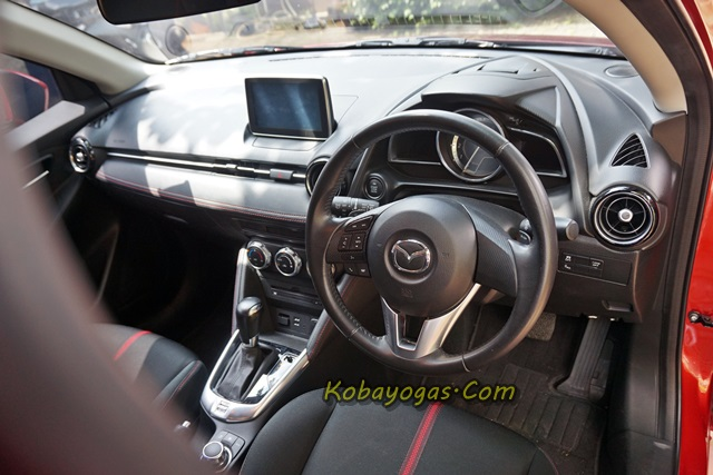 all New Mazda2 cockpit