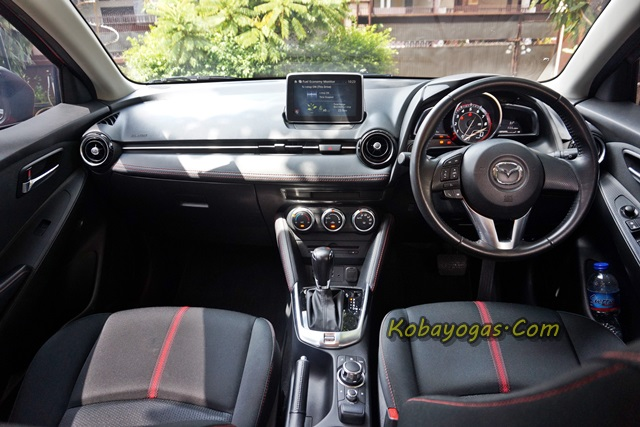 All New Mazda2 GT interior