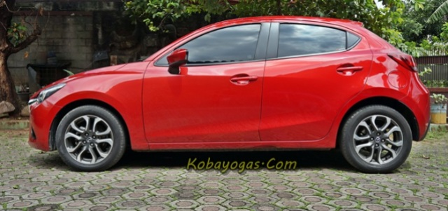 review All New Mazda2 GT soul red