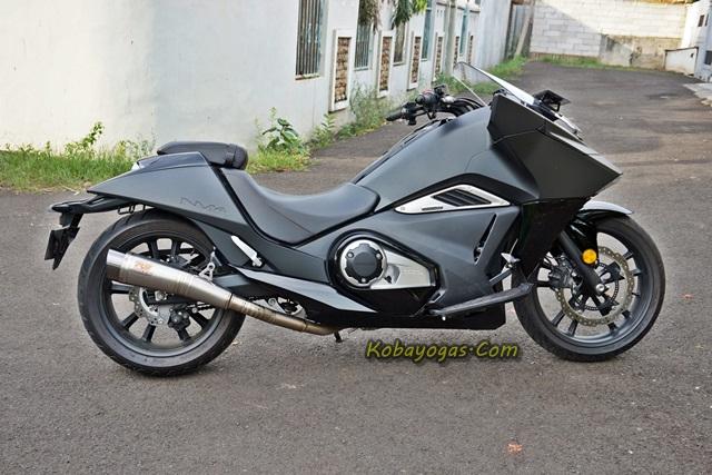 knalpot r9 Honda vultus 2