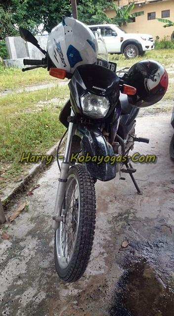 Honda XR125 depan