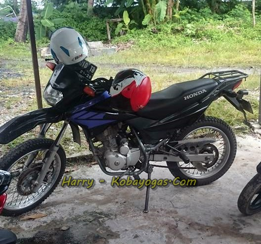 Honda XR125 samping2