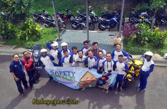 safety riding with bloggers