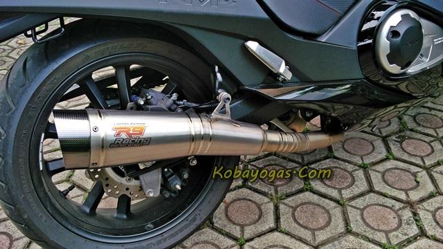 knalpot r9 Honda vultus 1