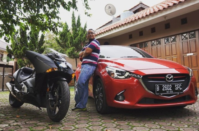 All New Mazda2 GT dan Honda Vultus