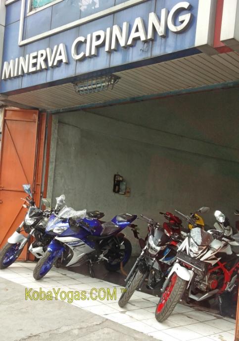 dealer minerva jualan banyak motor
