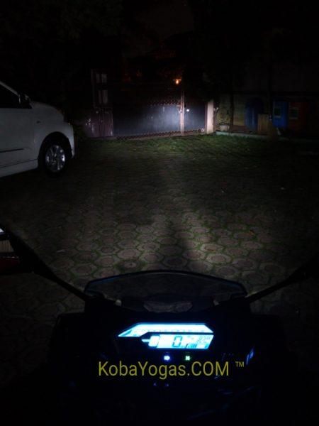 lampu jauh ON