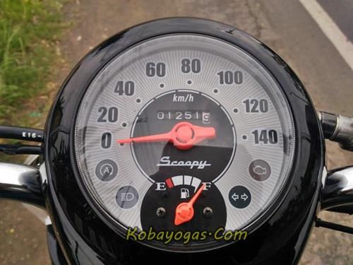speedometer honda scoopy esp iss 2