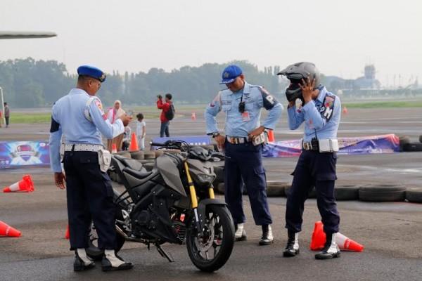 para punggawa TNI AU mencoba Xabre
